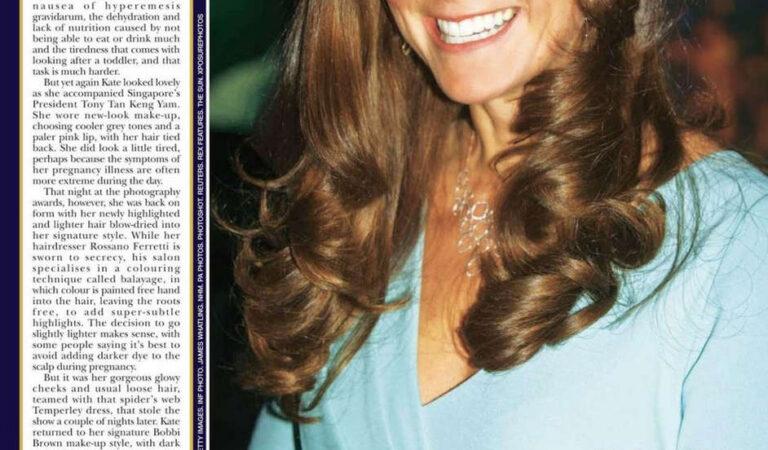 Kate Middleton Hello Magazine November 2014 Issue (10 photos)