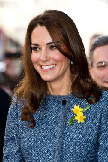 Kate Middleton Visits Fortnum Mason Store London