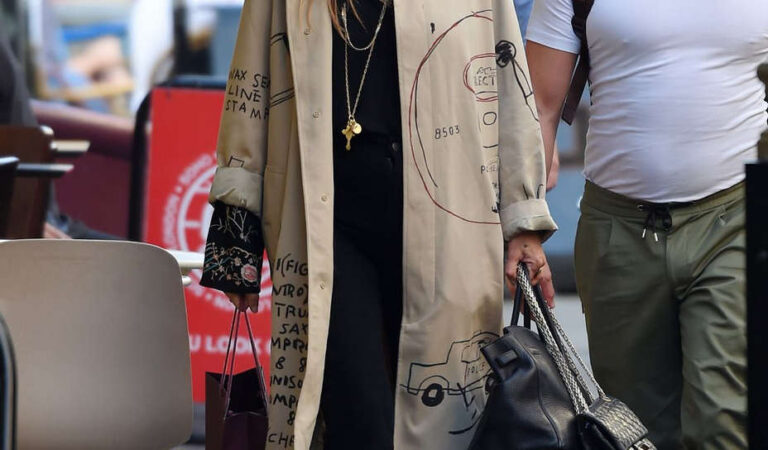 Kate Moss Out New York (13 photos)