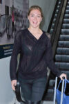 Kate Upton Arrives Lax Airport