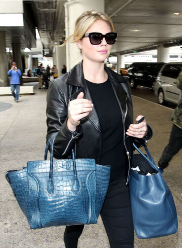 Kate Upton Arrives Los Angeles International Airport