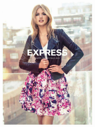 Kate Upton Express Collection Ads