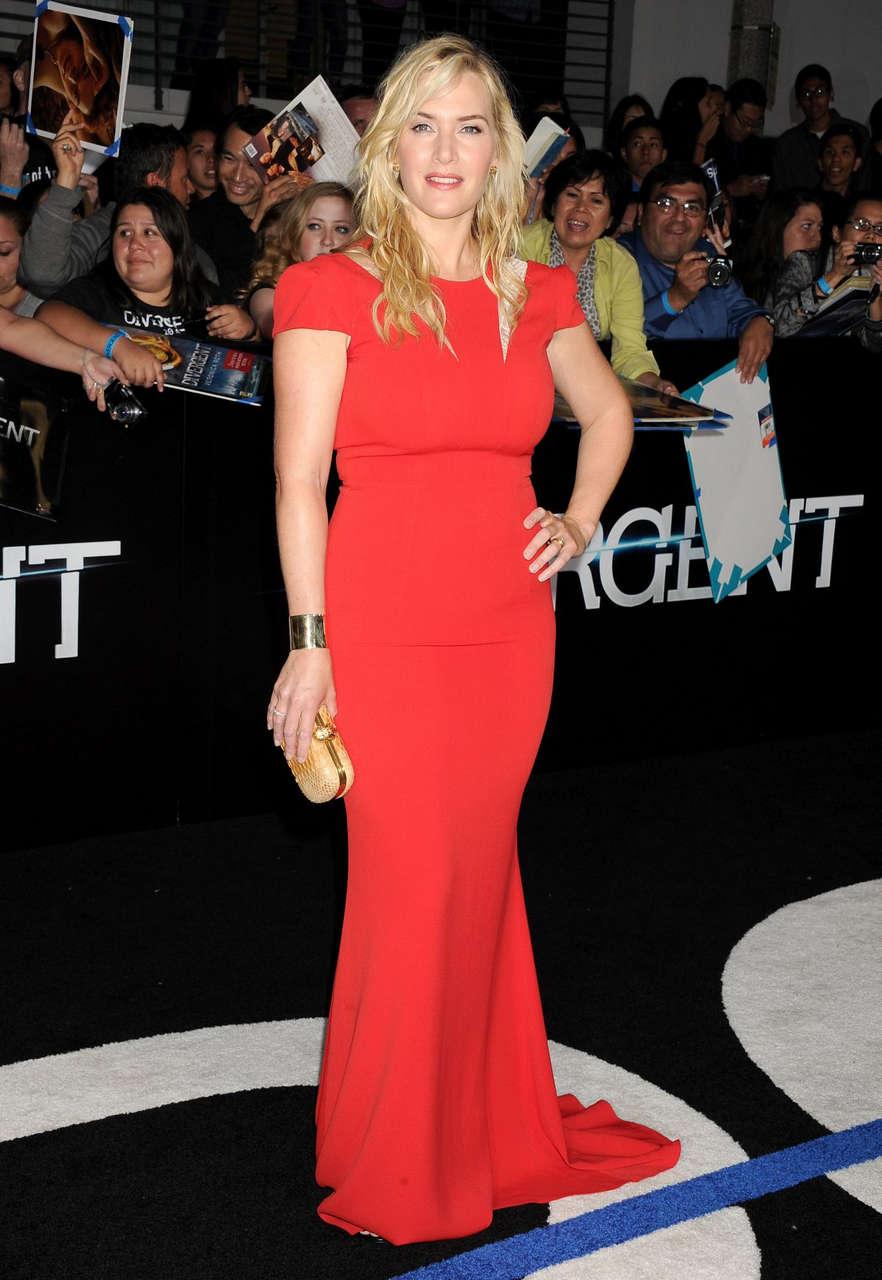 Kate Winslet Divergent Premiere Los Angeles
