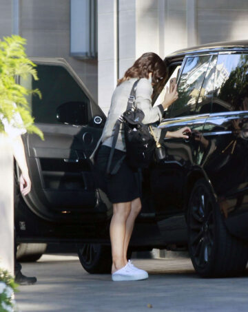Katharine Mcphee Out About Los Angeles