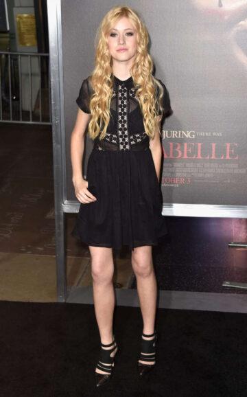 Katherine Mcnamara Annabelle Screening Hollywood