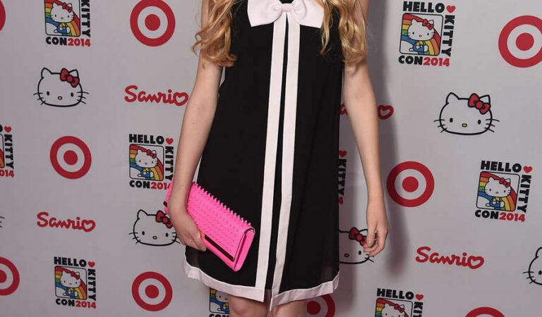 Katherine Mcnamara Hello Kitty Con 2014 Opening Night Party Los Angeles (9 photos)