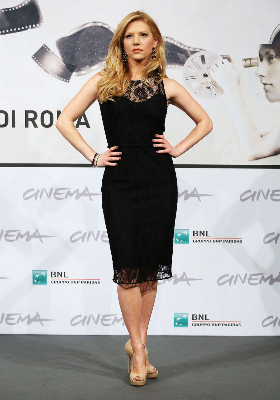 Katheryn Winnick Glimpse Inside Mind Charles Swan Iii Photocall Rome Film Festival
