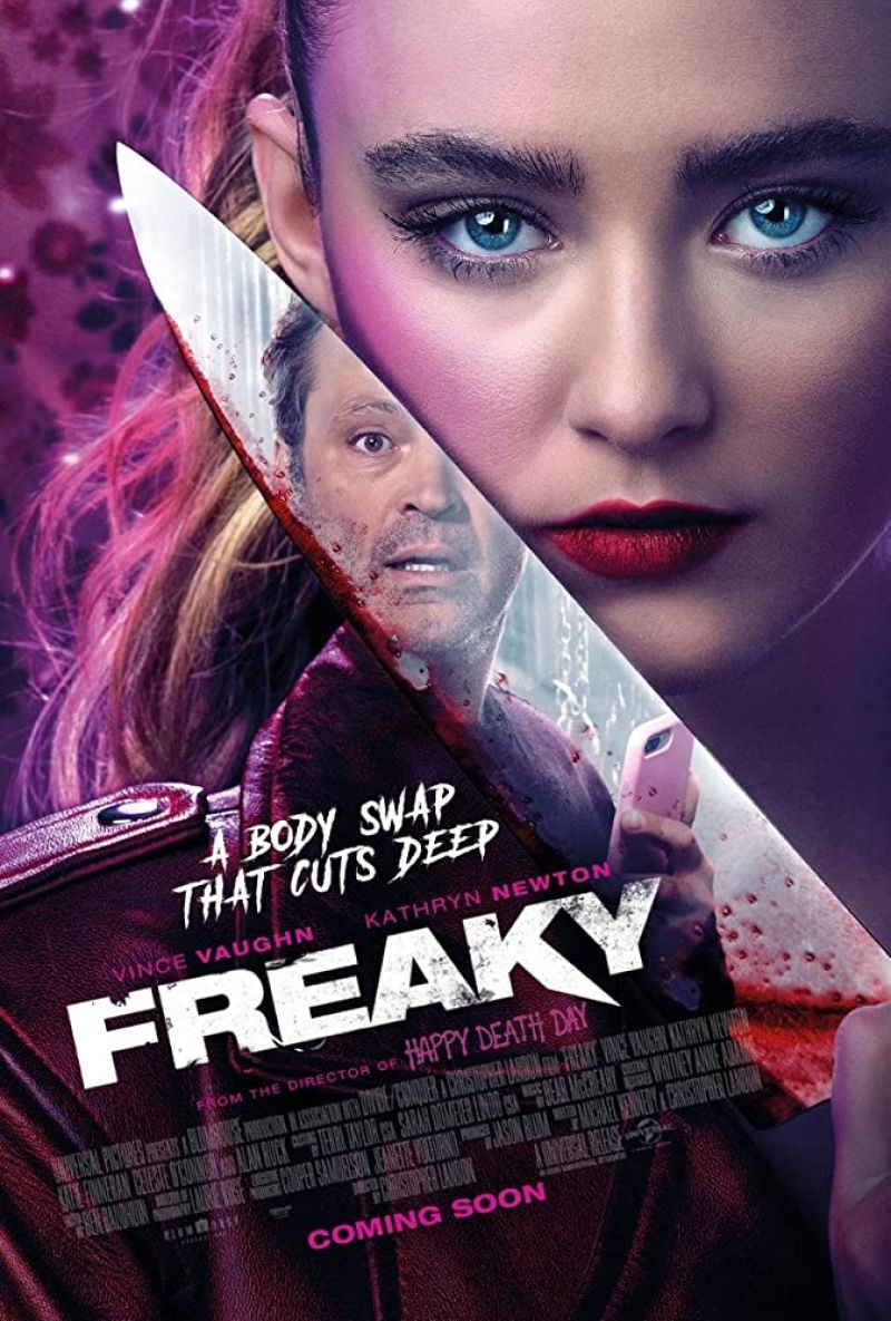 Kathryn Newton Freaky Posters Trailer