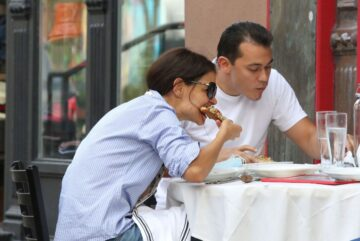 Katie Holmes Emilio Vitolo Jr Out For Lunch New York