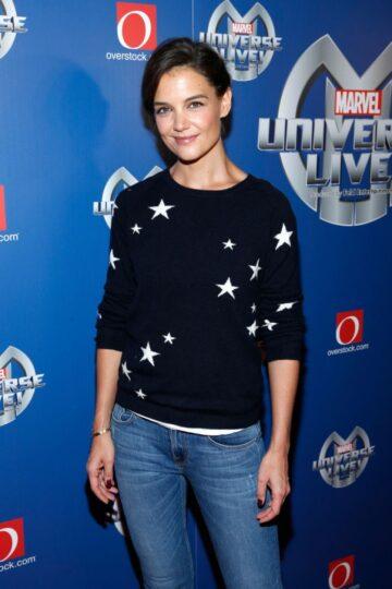 Katie Holmes Marvel Universe Live Premiere New York