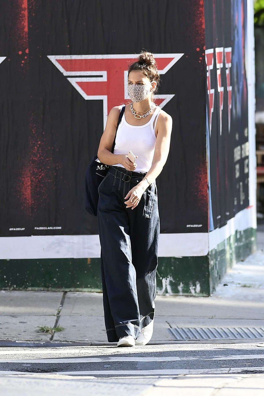 Katie Holmes Out About New York