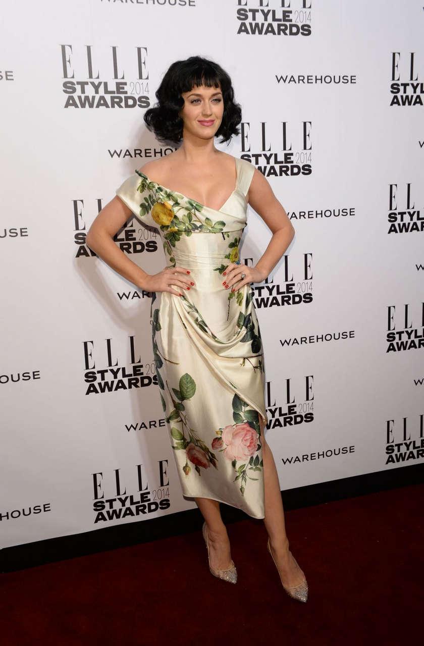 Katy Perry 2014 Elle Atyle Awards London