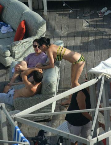 Katy Perry Bikini Candids Pool Miami
