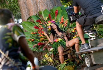 Katy Perry From The Set Of Roar