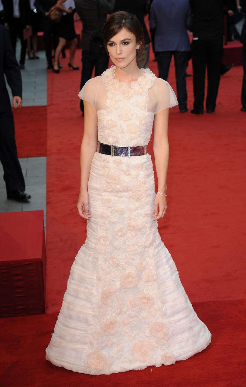 Keira Knightley Anna Karenina Premiere London