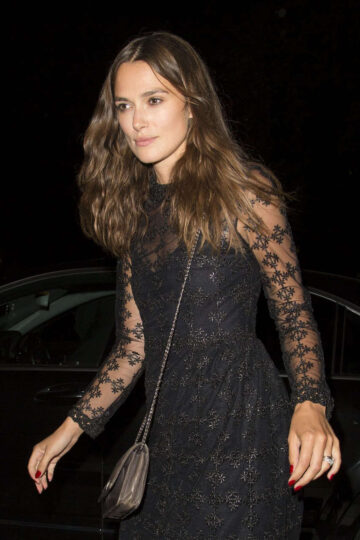 Keira Knightley Arrives Genetic X Liberty Ross Launch Event London