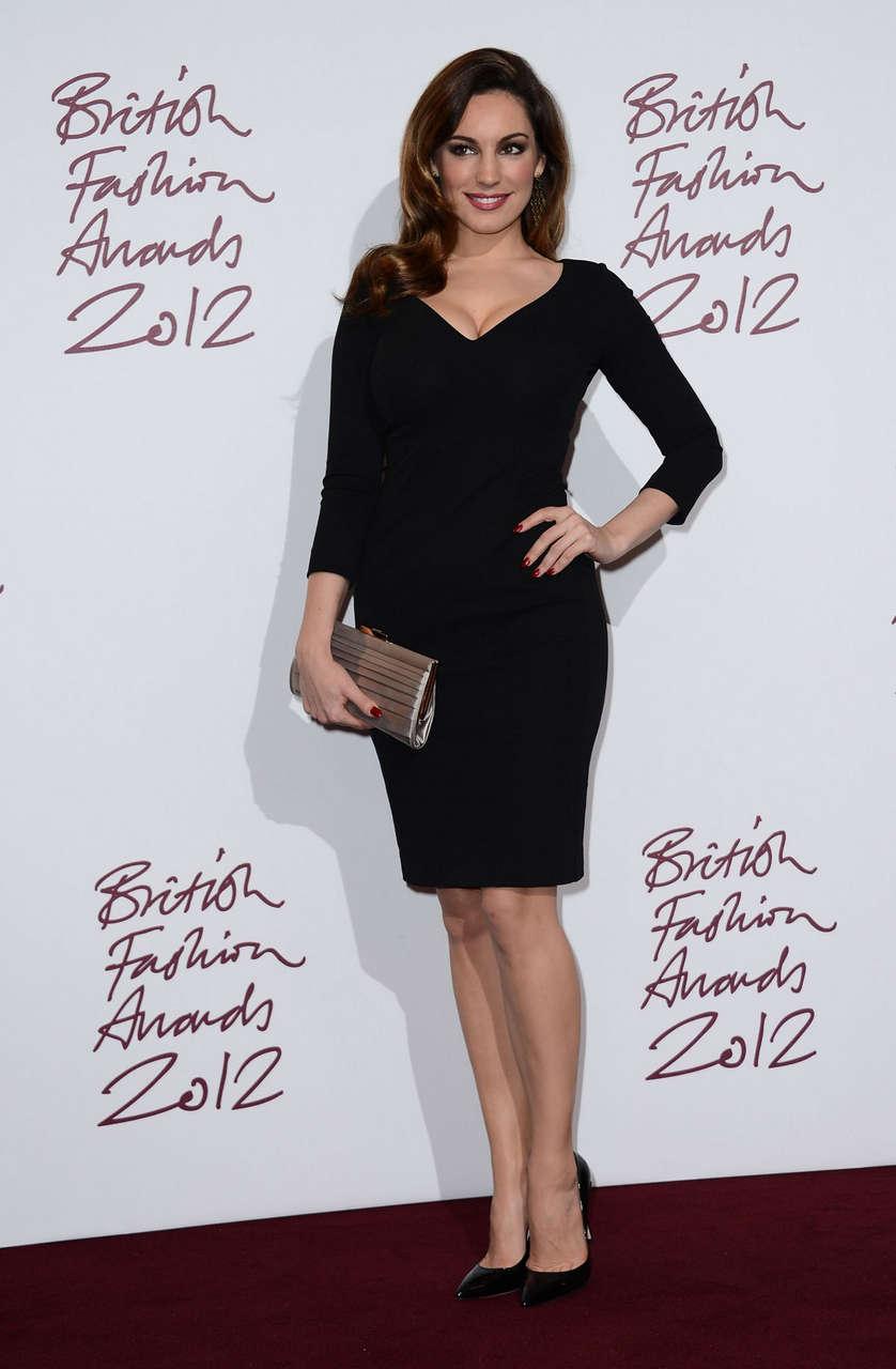 Kelly Brook 2012 British Fashion Awards Savoy Hotel London