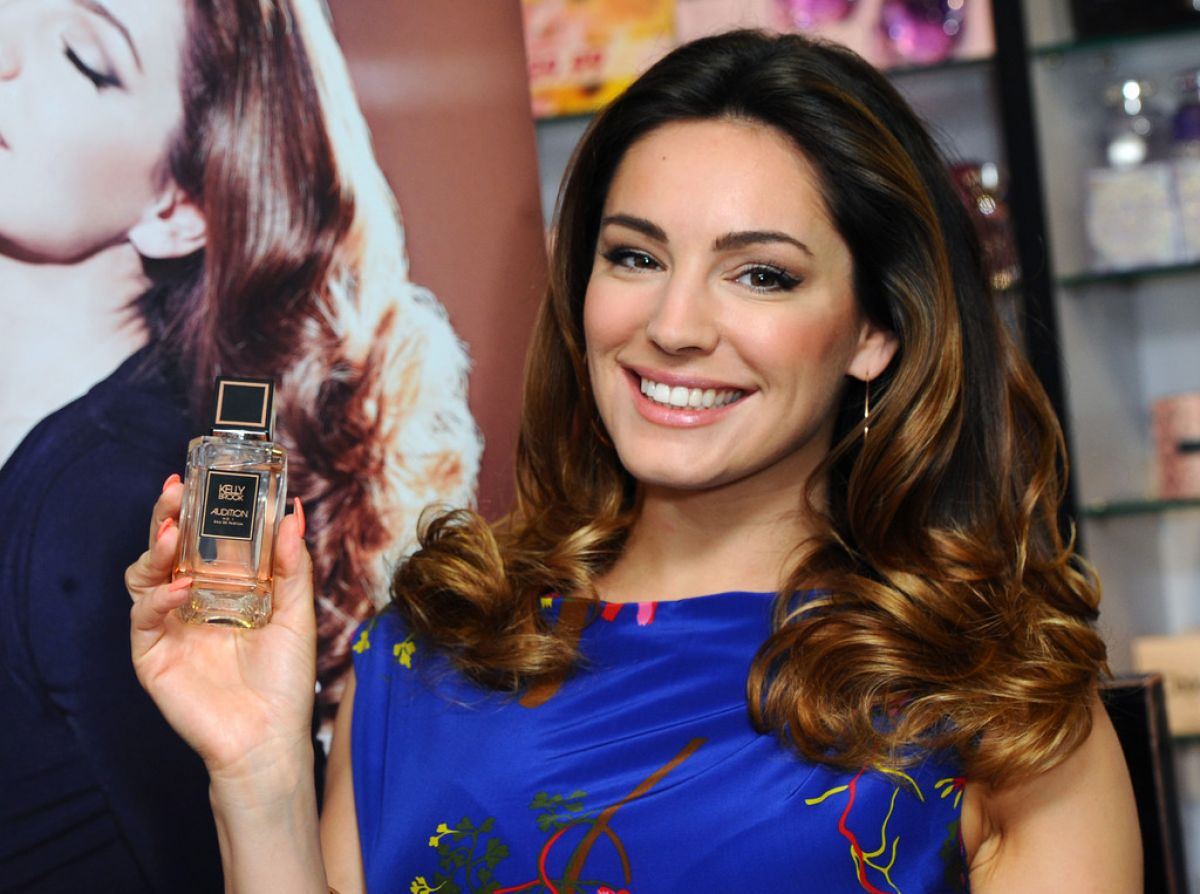 Kelly Brook Audition Perfume Launch London