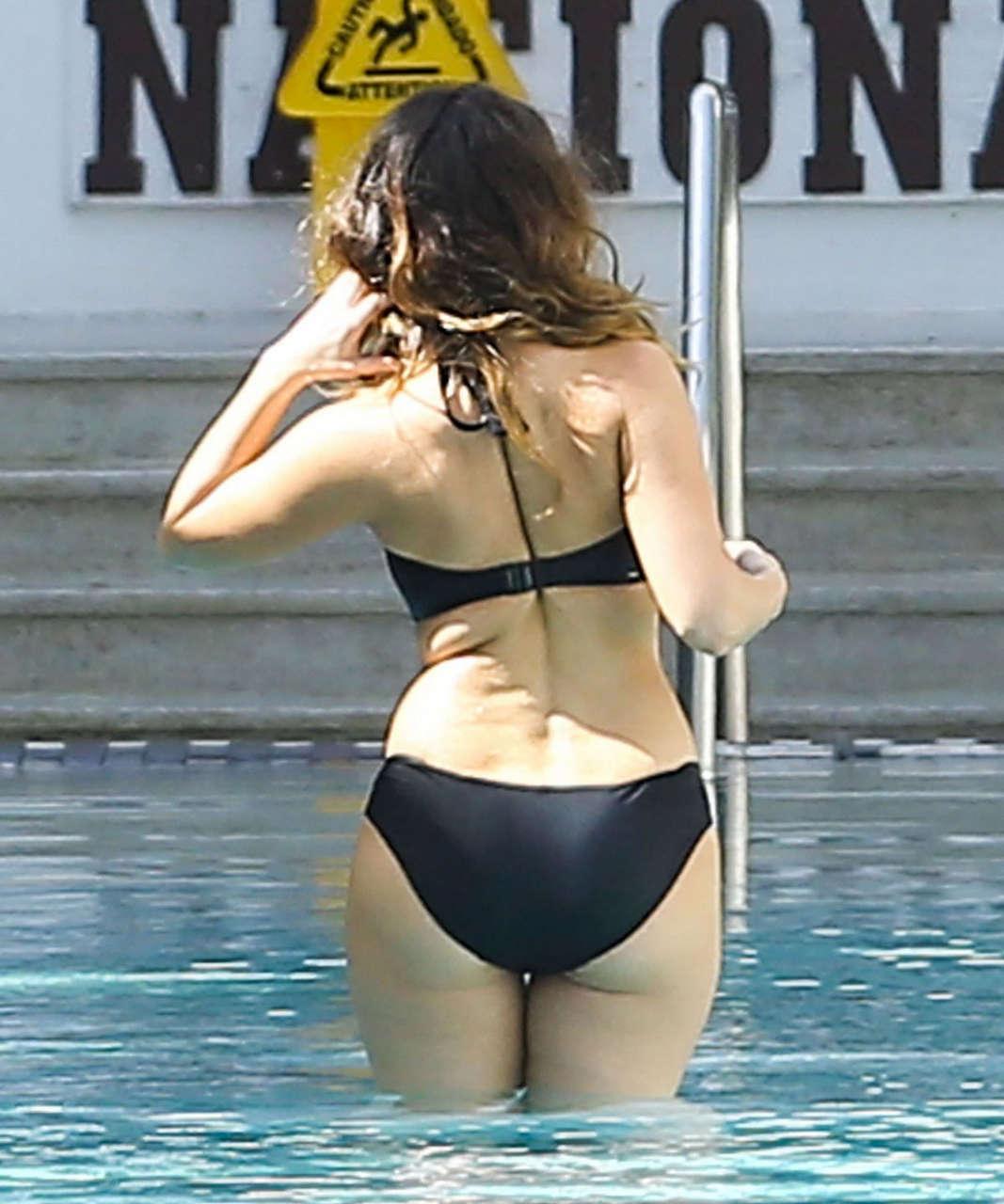 Kelly Brook Bikinis Photoshoot Beach Miami