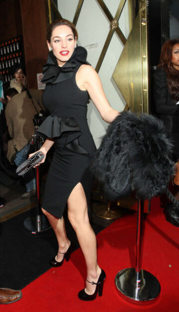 Kelly Brook Launch Cointreau Prive Pop Up Bar London