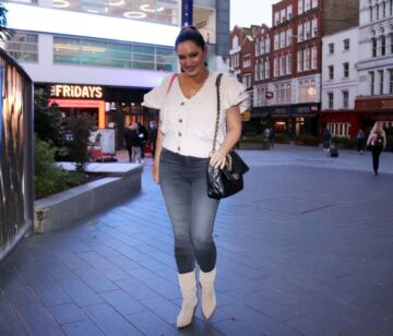 Kelly Brook Leaves Her Radio Show London