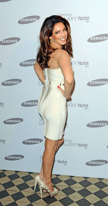 Kelly Brook Samsung Galaxy Note 10 1 Launch Party London