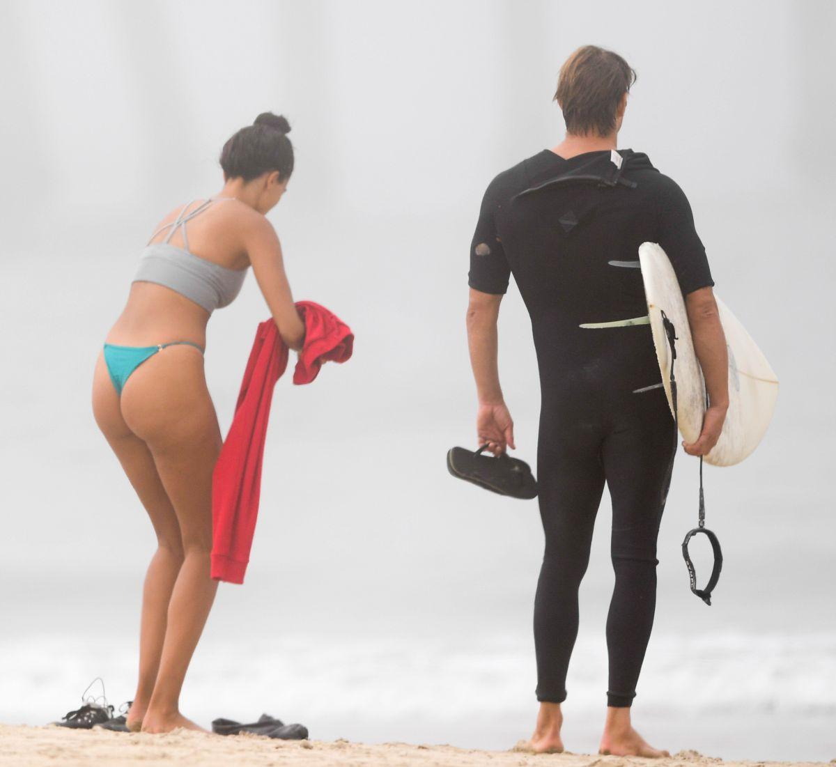 Kelly Gale Bikini Beach Santa Monica