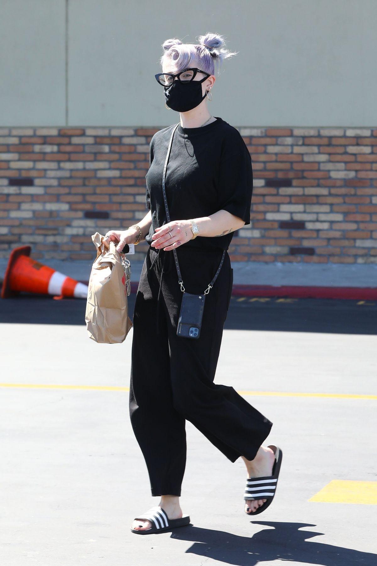 Kelly Osbourne Leaves Cvs Pharmacy Los Angeleas