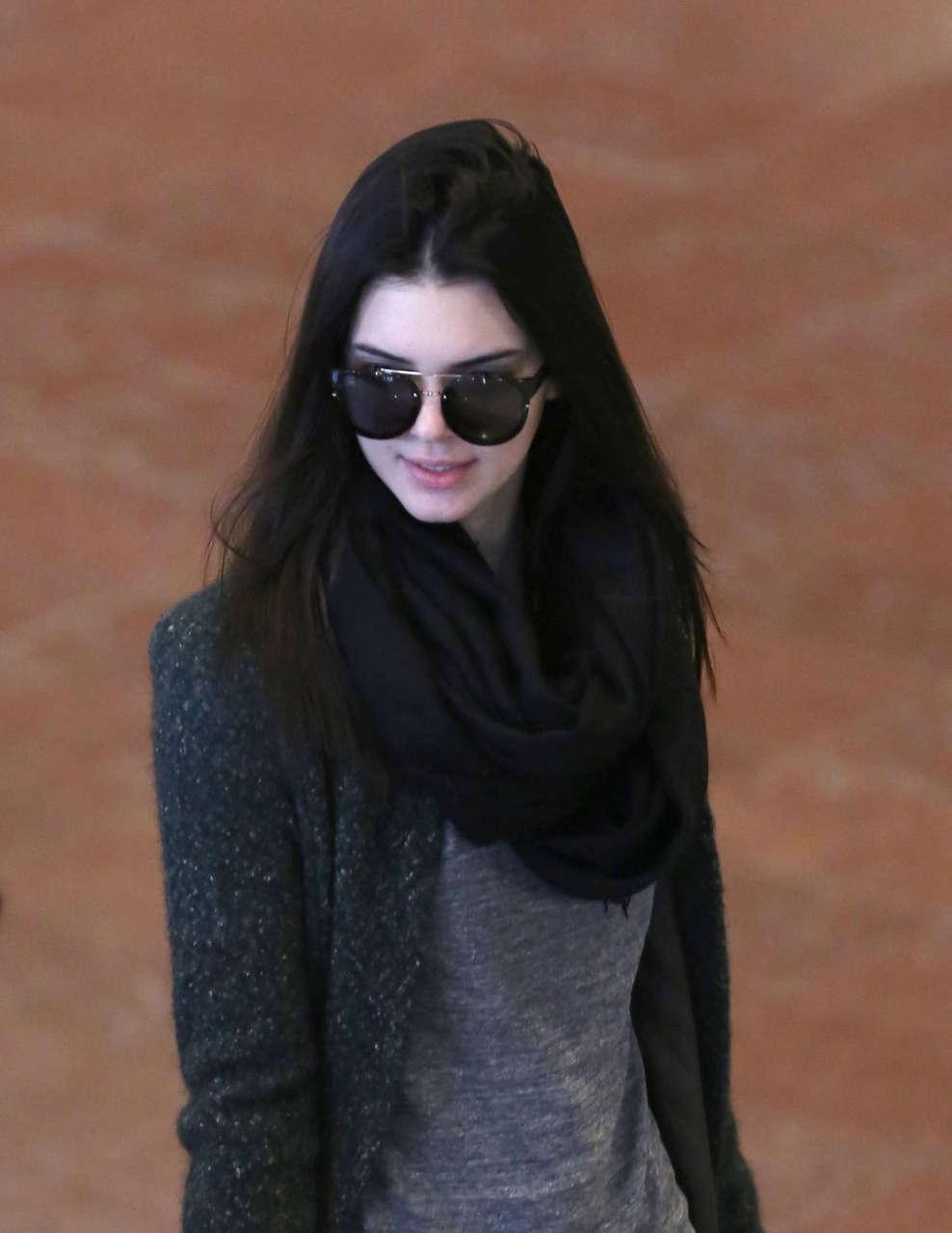 Kendall Jenner Charles De Gaulle Airport Paris