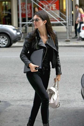 Kendall Jenner Heading Meeting New York