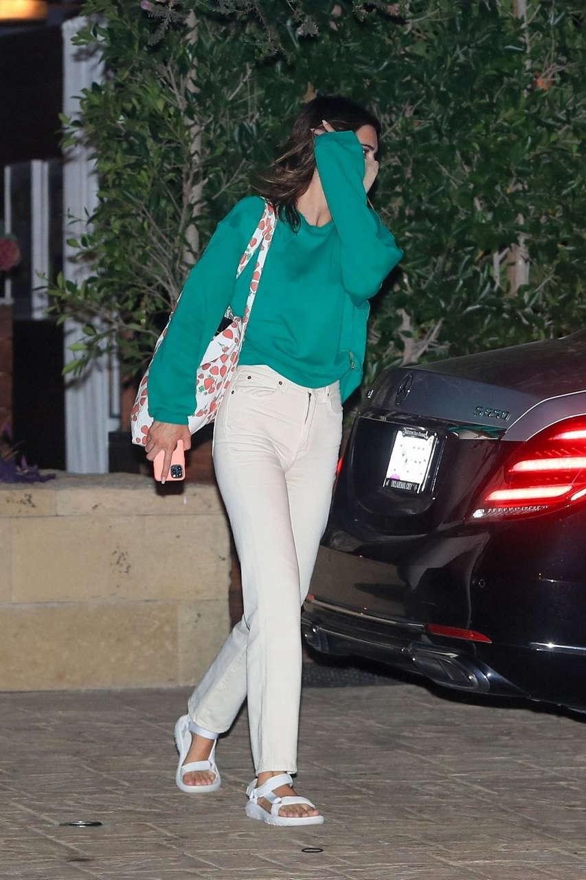 Kendall Jenner Leaves Soho House Malibu