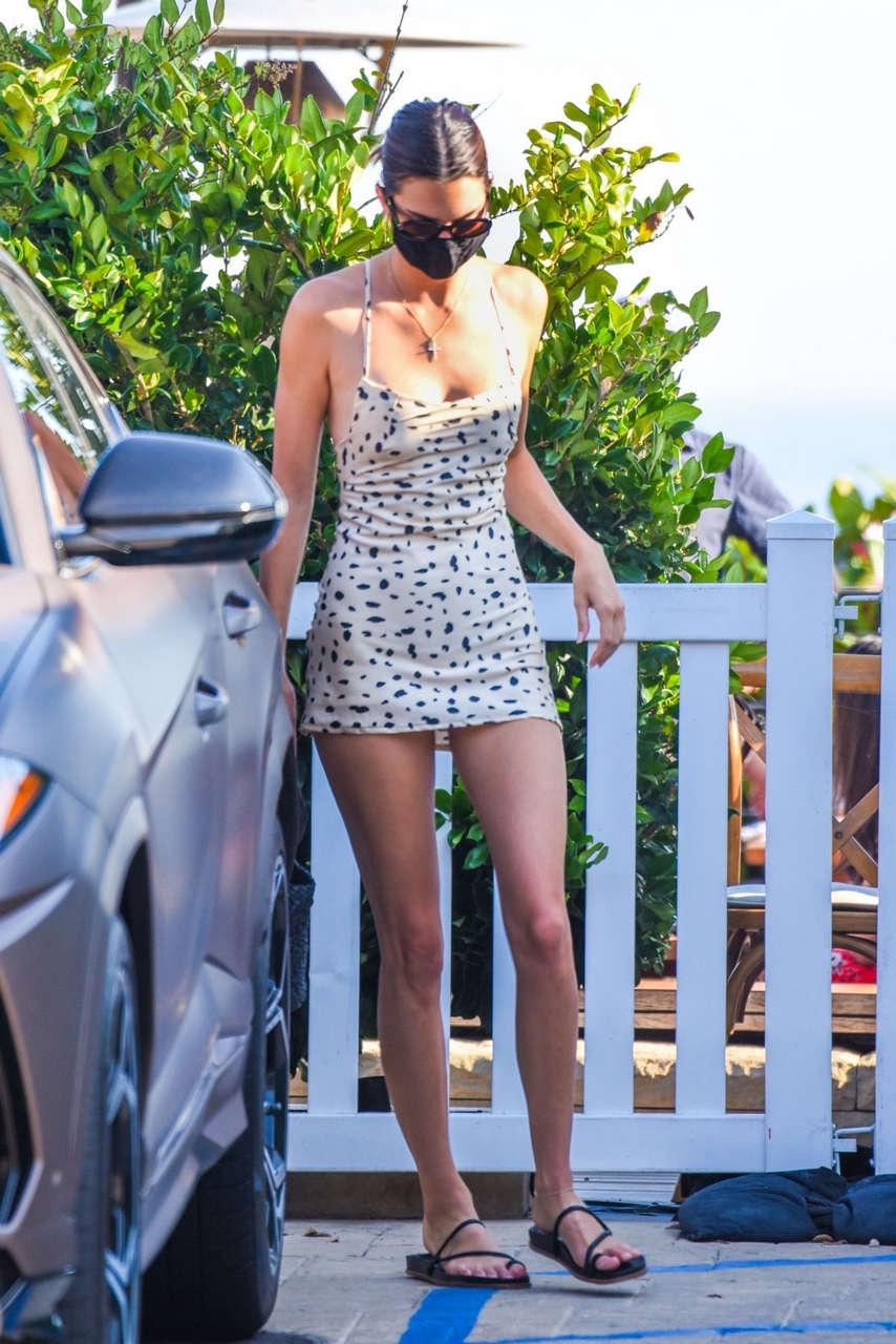 Kendall Kylie Jenner Leaves Nobu Malibu