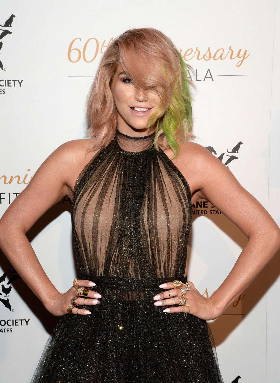 Kesha Humane Society Us 60th Anniversary Gala Beverly Hills