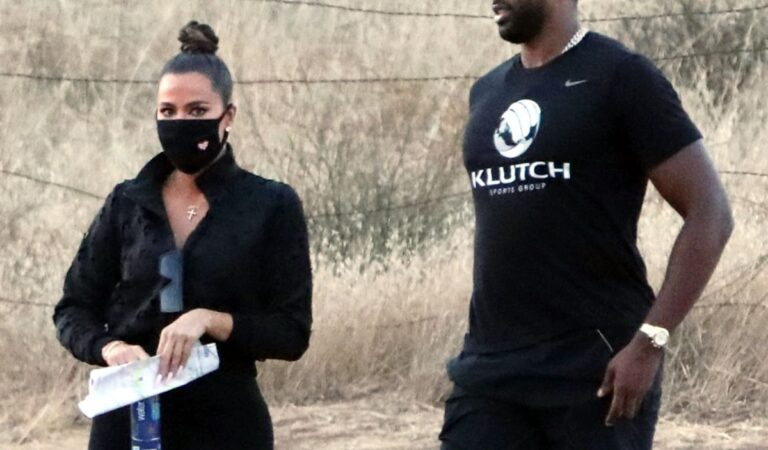 Khloe Kardashian Tristan Thompson Set Lkuwtk Malibu Hills (2 photos)