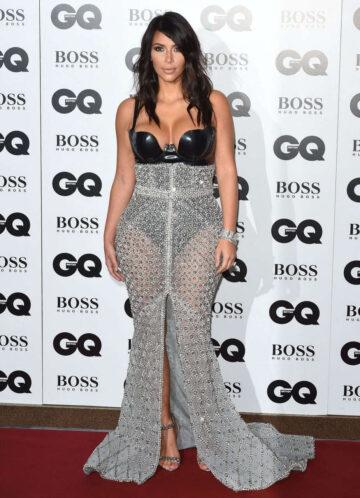 Kim Kardashian 2014 Gq Men Year Awards London