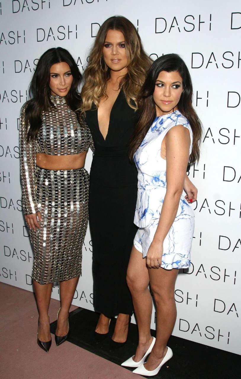 Kim Kardashian Dash Opening Miami Beach