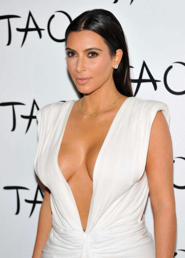 Kim Kardashian Her Birthday Party Tao Nightclub Las Vegas