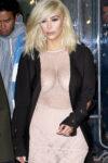 Kim Kardashian In See Through Dress See More At