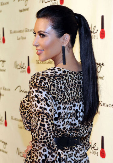 Kim Kardashian Kardashian Khaos Store Opening Mirage Hotel Casino Las Vegas