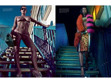 Kim Kardashian Nude For Love Magazine