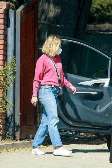 Kristen Bell Denim Out Los Feliz