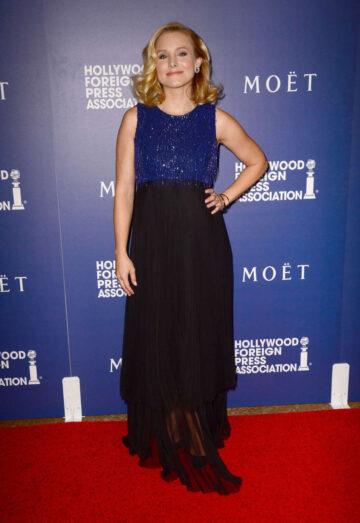Kristen Bell Hollywood Foreign Press Associations Grants Banquet Beverly Hills