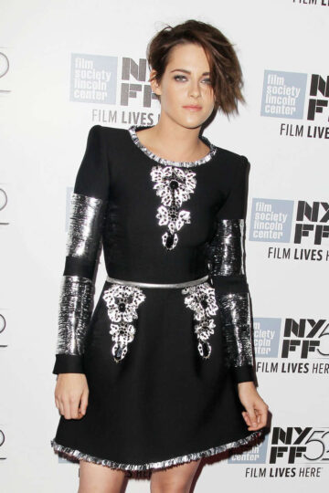 Kristen Stewart Clouds Sils Maria Premiere New York