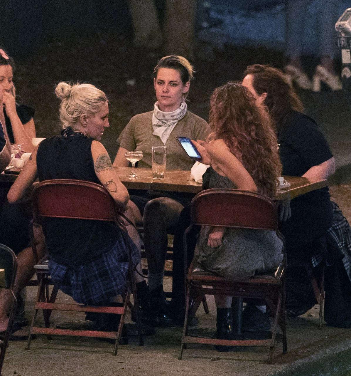 Kristen Stewart Dylan Meyer Night Out Los Angeles