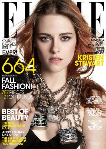 Kristen Stewart Elle Magazine September 2014 Issue