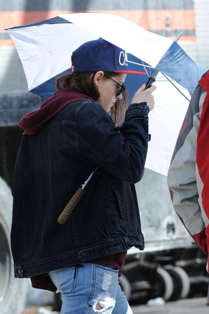 Kristen Stewart Set Od Still Alice New York