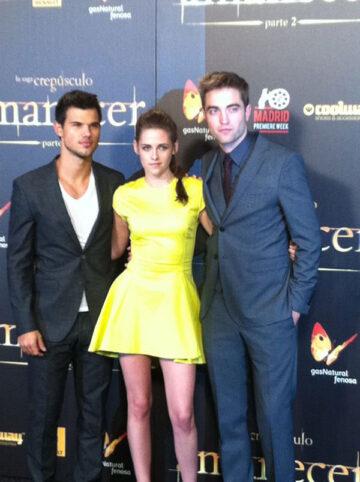 Kristen Stewart Twilight Saga Breaking Dawn Part 2 Premiere Madrid