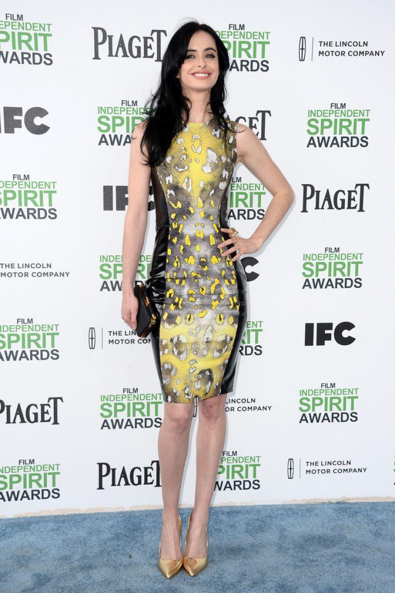 Krysten Ritter 2014 Film Independent Spirit Awards Santa Monica