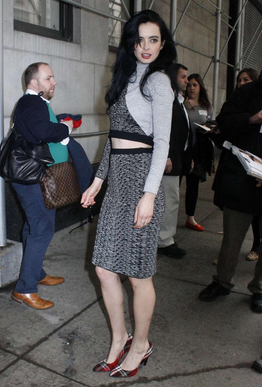 Krysten Ritter Arrives Wendy Williams Show New York
