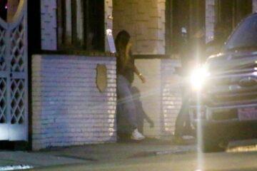 Kylie Jenner Leaves 40 Love West Hollywood
